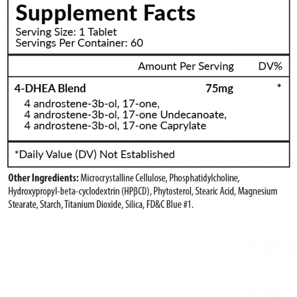 Axxis Supplement Facts