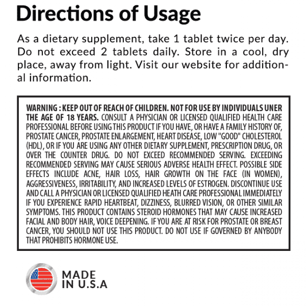 Norexx Directions of Usage