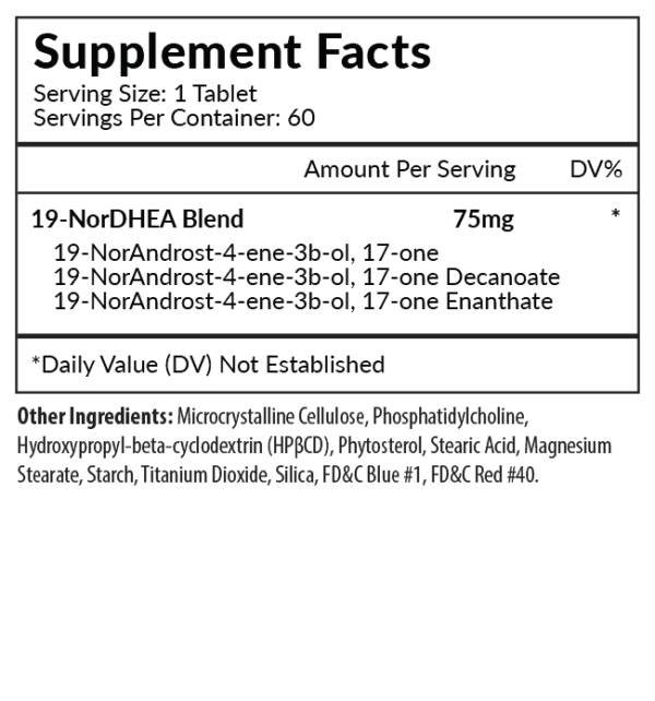 Norexx Supplement Facts