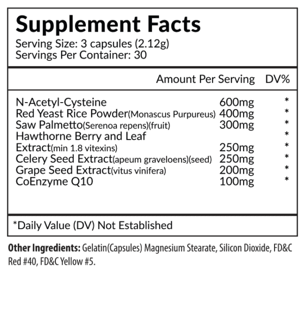 Pillar Supplement Facts
