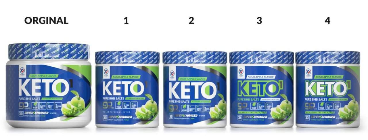 Keto Label Contest