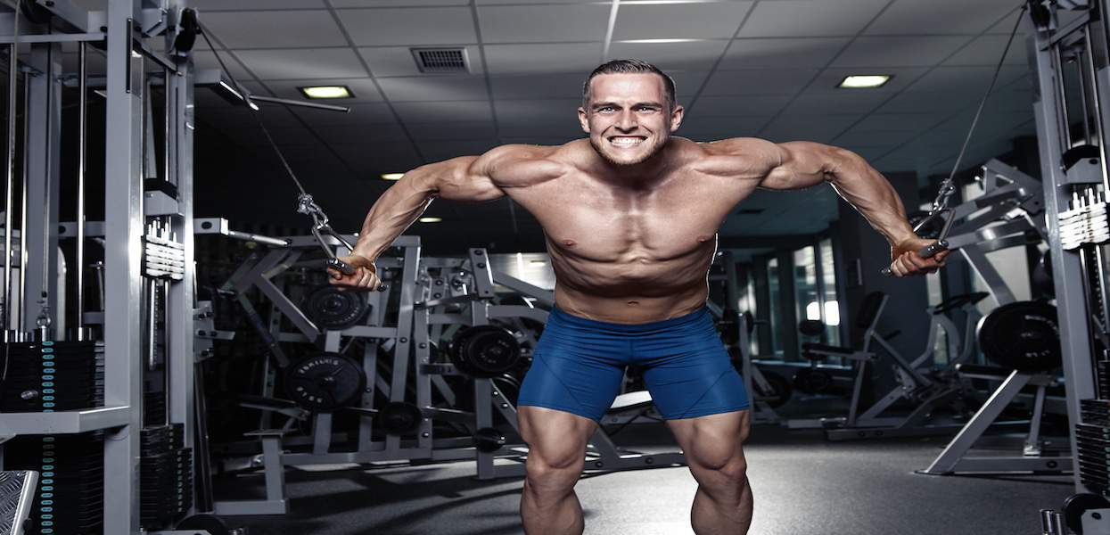 how to build chest muscles with supplements and exercise